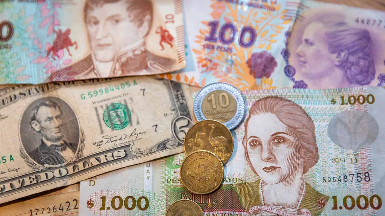 How much does overlanding cost - image of foreign currency