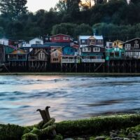 The best Airbnbs in Chiloe Island - a Palafito in Castro