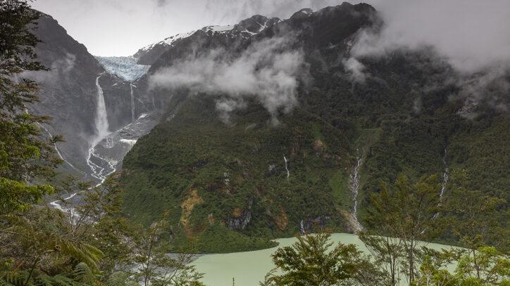 Carretera Austral road trip Ventisquero Colgante in Queulat National Park