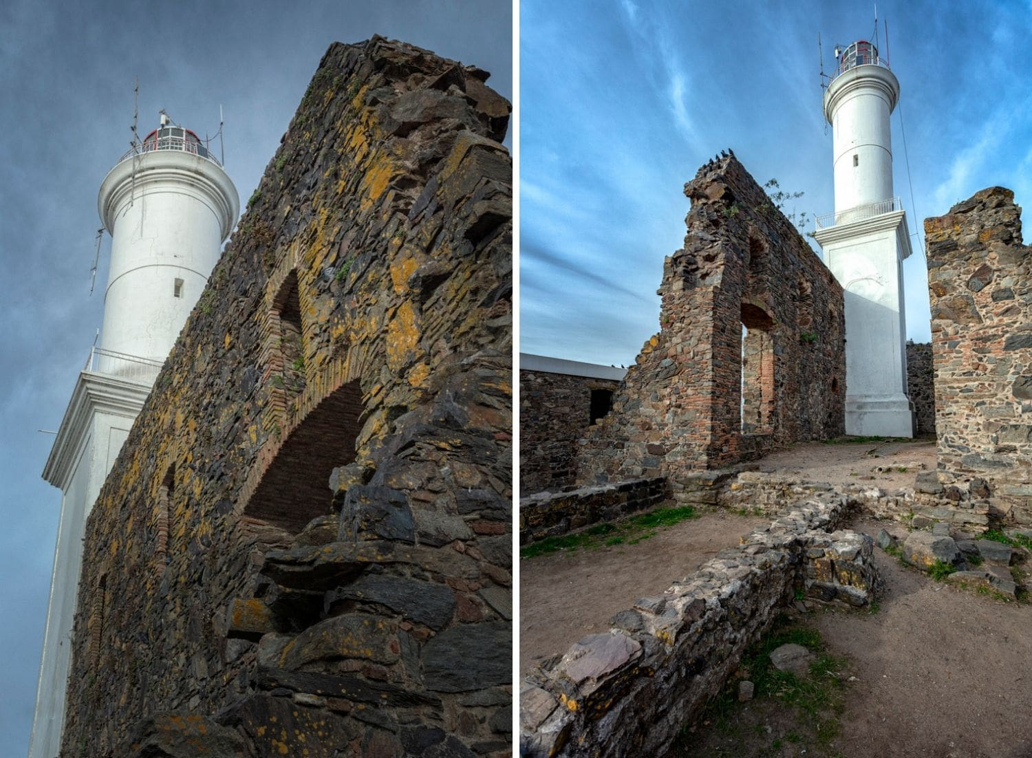 The lighthouse or Faro at Colonia in Uruguay