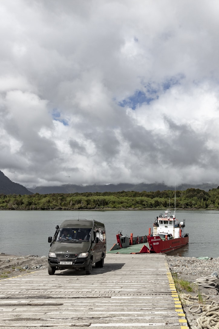 Patagonia Chile ferry crossings