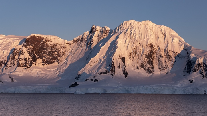Pristine landscapes on a trip to Antarctica