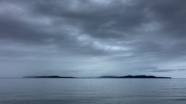 Rainy weather on Chiloe Island