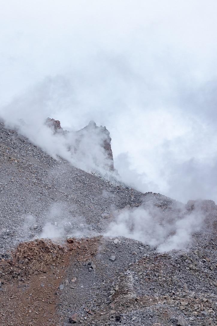 Smouldering Volcano Chaiten