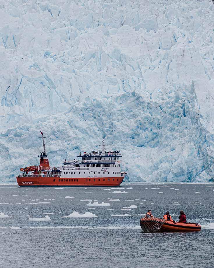 laguna san rafael and glacier tour