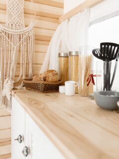 van life kitchen essentials for campervans and RV living