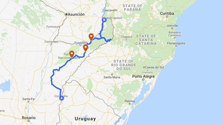 Northeast Road Trip >> Northeast Argentina Road Trip Nature Culture And Waterfalls