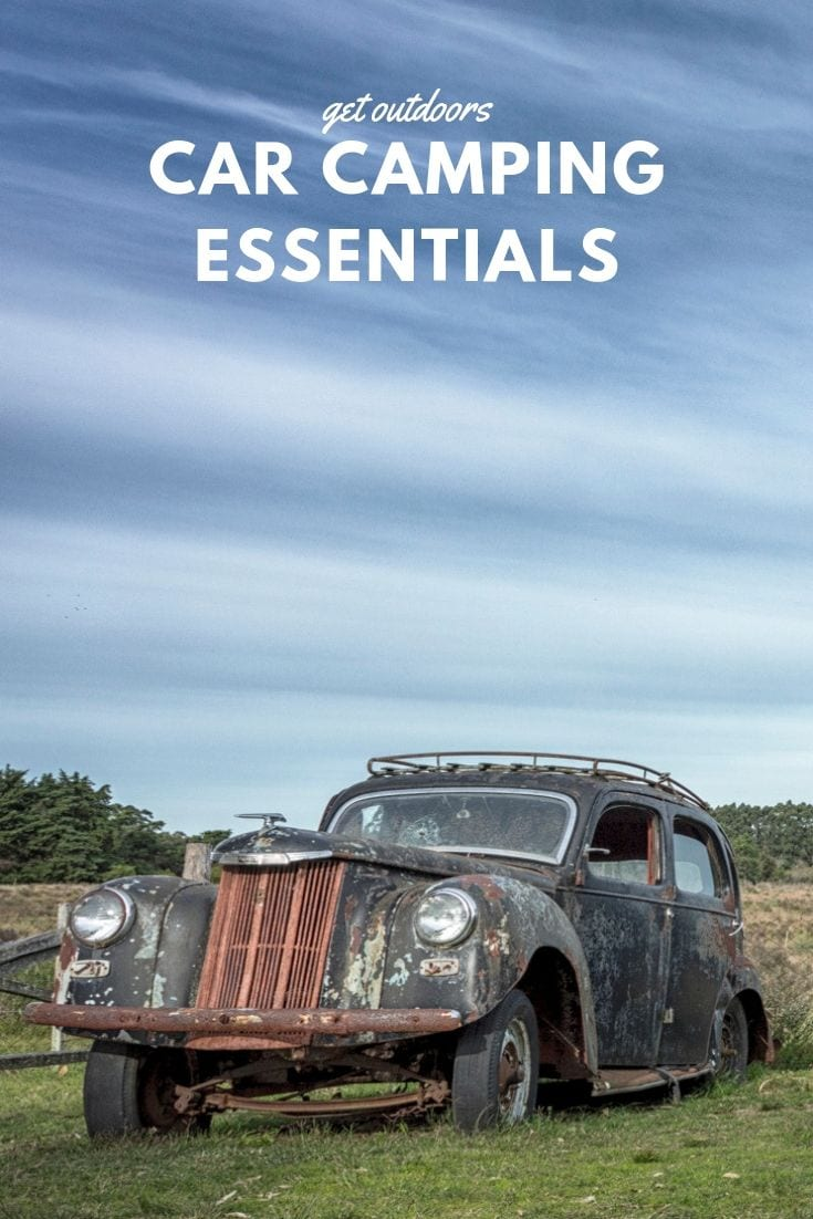 Car camping essentials for 2020
