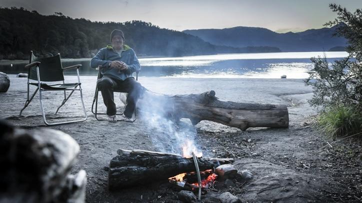 car camping in Argentina Patagonia
