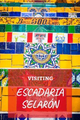 Visiting Escadaria Selarón steps