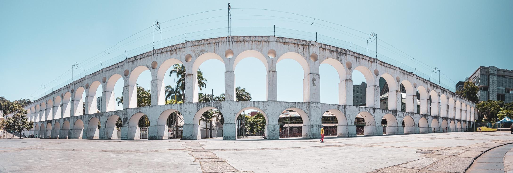 Lapa or Lapa Arches near Santa Teresa Rio de Janeiro