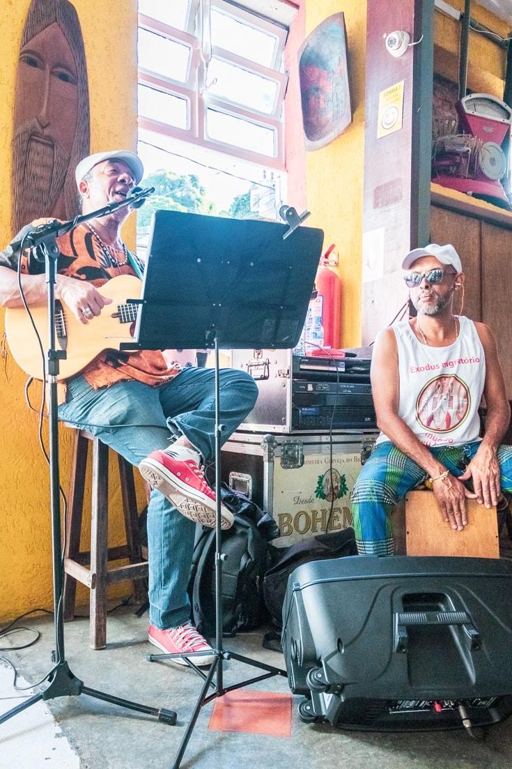 Live music in Santa Teresa Rio de Janeiro