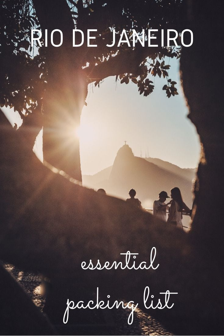 Beaches, jungle and epic attractions. There's so much to do in Rio de Janeiro & you need to be prepared! Use our definitive Rio de Janeiro packing list so your time in Brazil's Marvellous City goes without a hitch. #brazil #riodejaneiro #traveltips #packinglist #southamerica