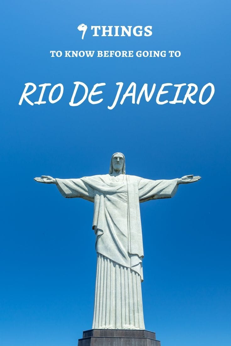 Rio de Janeiro - the Marvellous City! With hundreds of things to see & do, you're going to have a blast. Make sure to read these top travel tips before you go to get the most of of this amazing Brazilian icon. #brazil #riodejaneiro #traveltips #southamerica