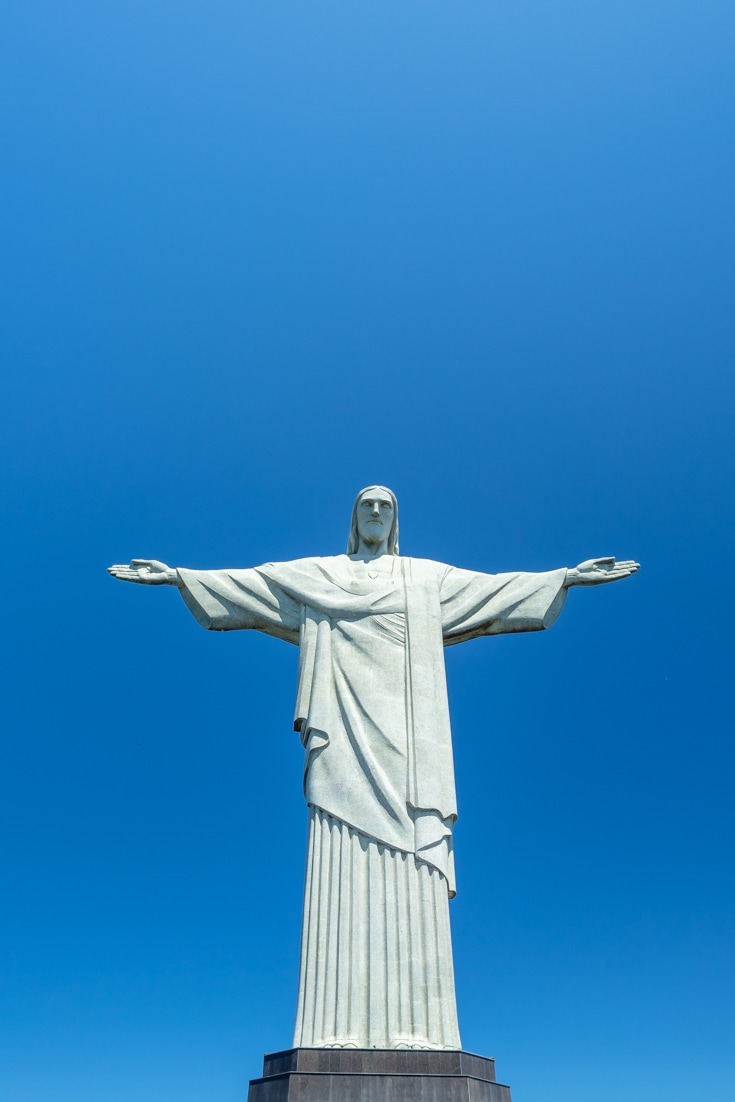 Despite Jesus Christ watching over the city, Rio de Janeiro has its problems