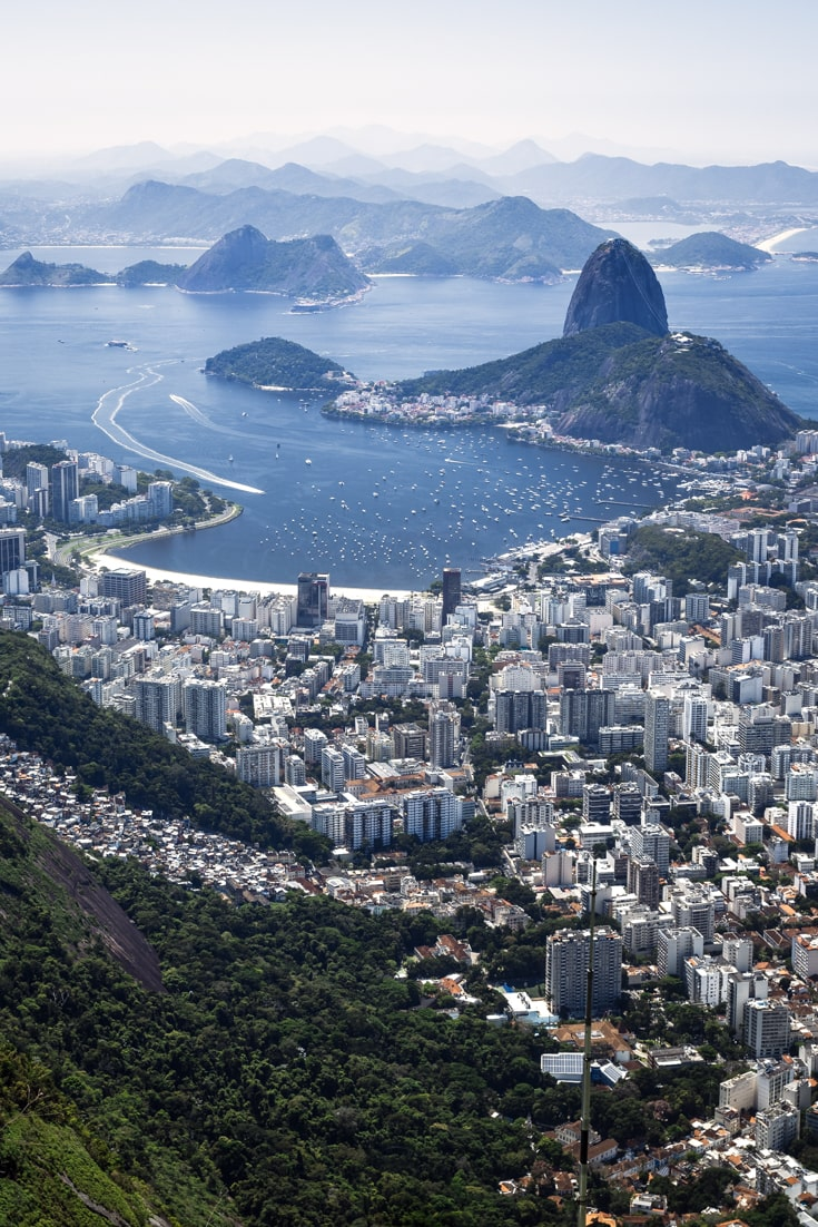 Rio de Janeiro travel advice - the city is massive