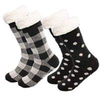 Thick chunky comfy socks