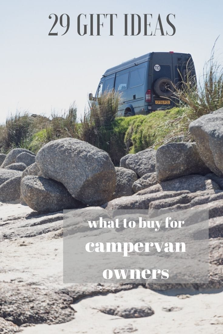 Campervan gift ideas for motorhomes, RVs and van dwellers