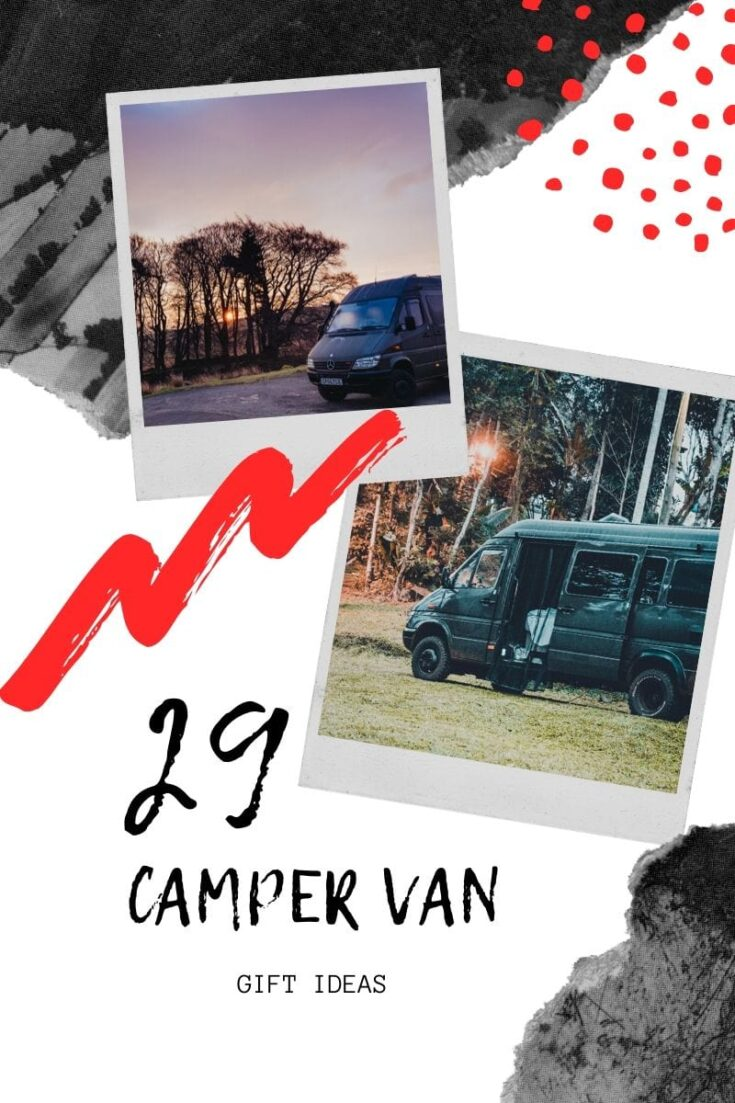 Campervan gift ideas for travellers
