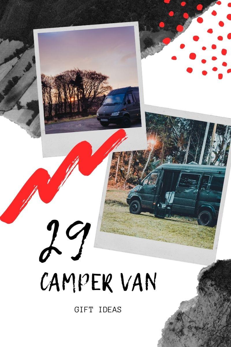 Campervan gift ideas for campervan owners