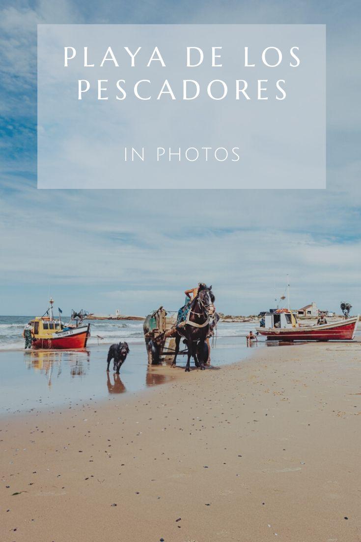 Playa de Los Pescadores in Punta del Diablo is a photogenic fishing village.