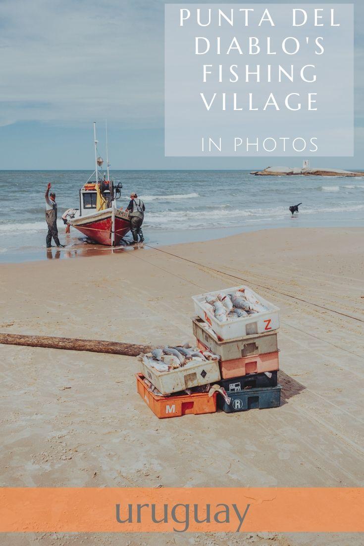 Punta del Diablo's fishing village in photos