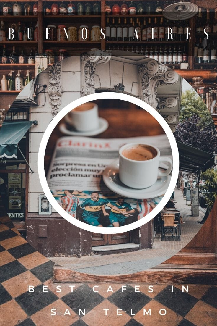 San Telmo cafes in Buenos Aires Argentina on Pinterest
