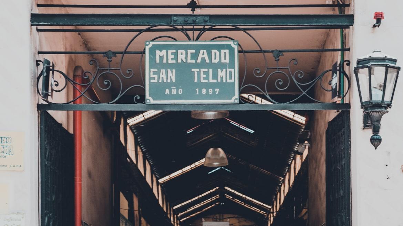 San Telmo market Mercado San Telmo