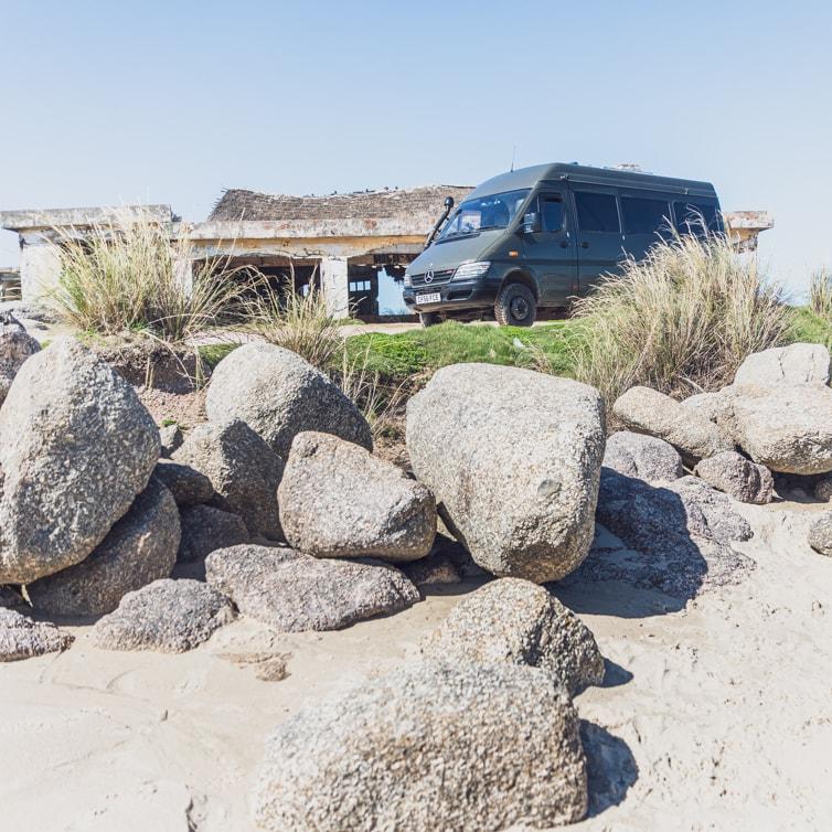 free camping in Punta del Diablo Uruguay