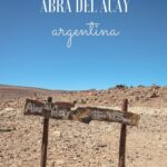 A guide to driving over Abra del Acay