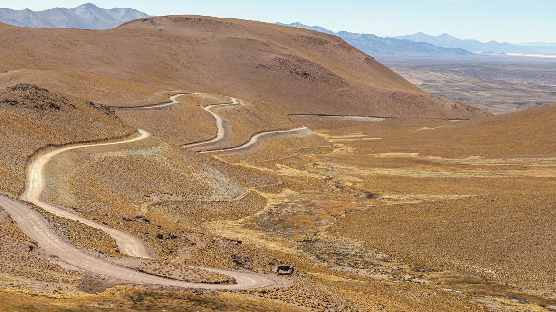 Abra del acay on Ruta 40 Argentina