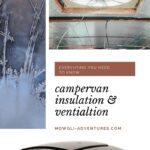 Pin image for Campervan insulation and ventilation