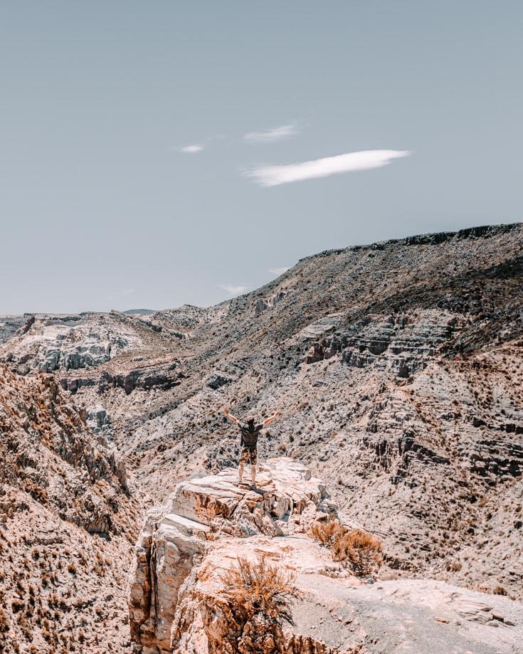 Valle Grande Mendoza | A scenic drive through Atuel Canyon