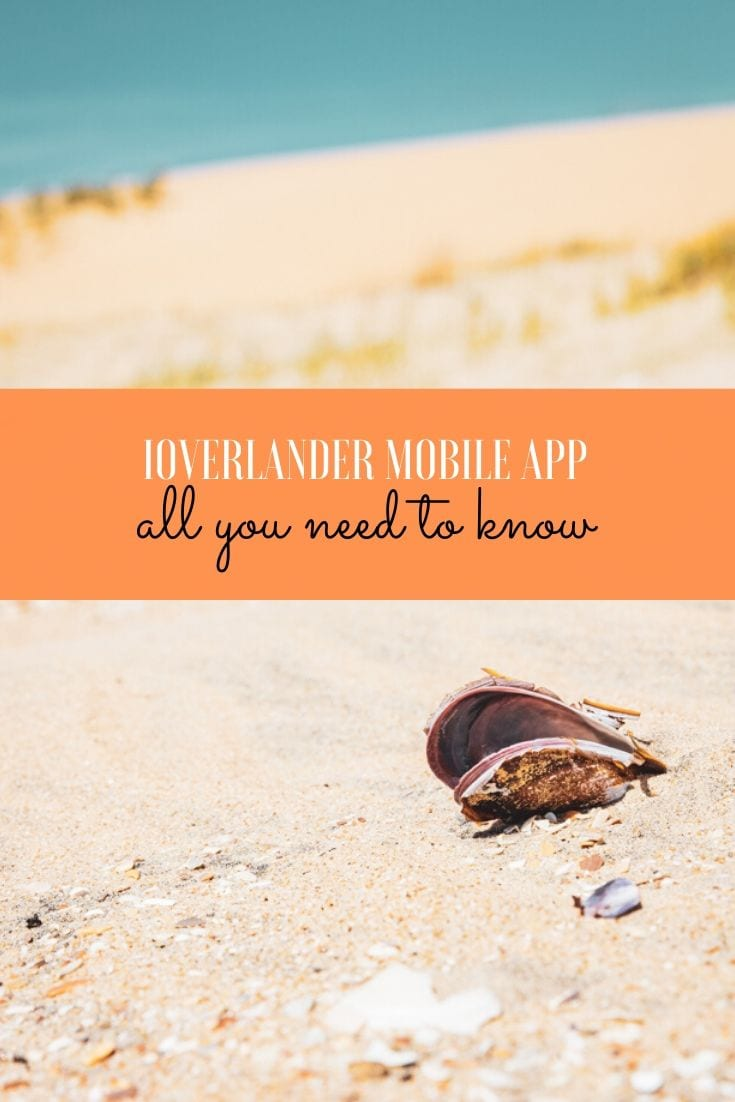 How to use the iOverlander app offline