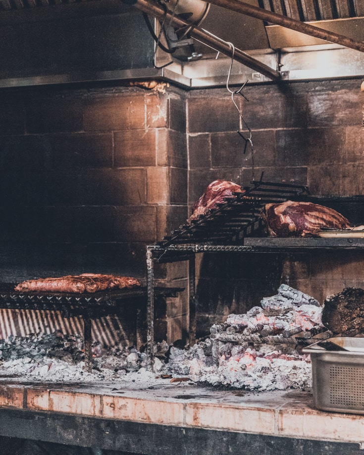 Dine out at a fine Argentinian parrilla