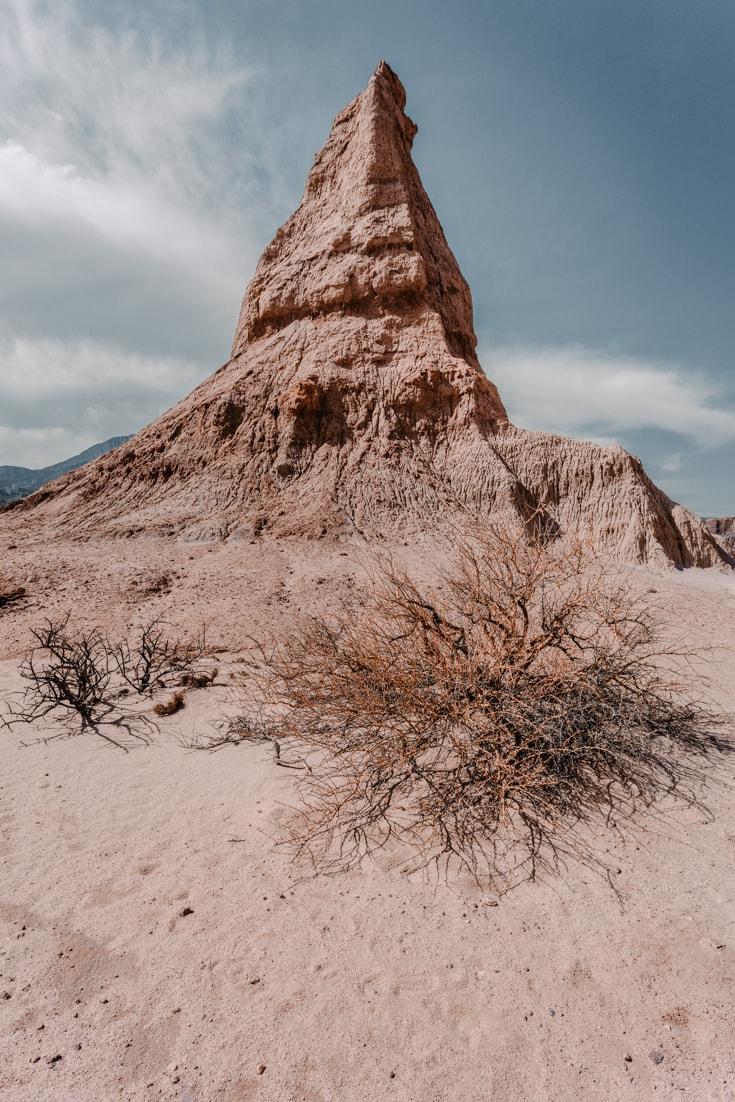 Obelisk in Quebrada de las Conchas