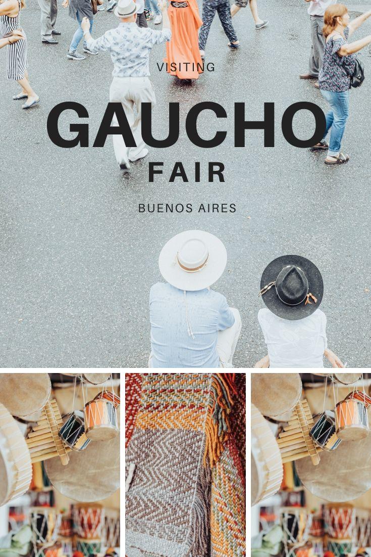 Visiting Feria de Mataderos Gaucho fair in Buenos Aires