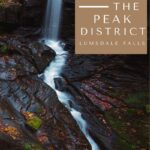 Pin image for Peak District walks lumsdale falls