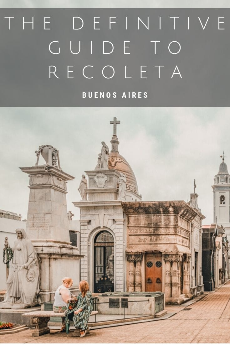 With almost 5000 vaults, and acclaimed as one of the most beautiful cemeteries in the world. La Recoleta is one of Buenos Aires most popular attractions. And it's free too! Here's everything you need to know to plan you visit. #Argentina #BuenosAires #ArgentinaTravel