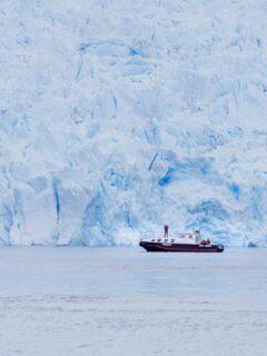 san rafael glacier and laguna