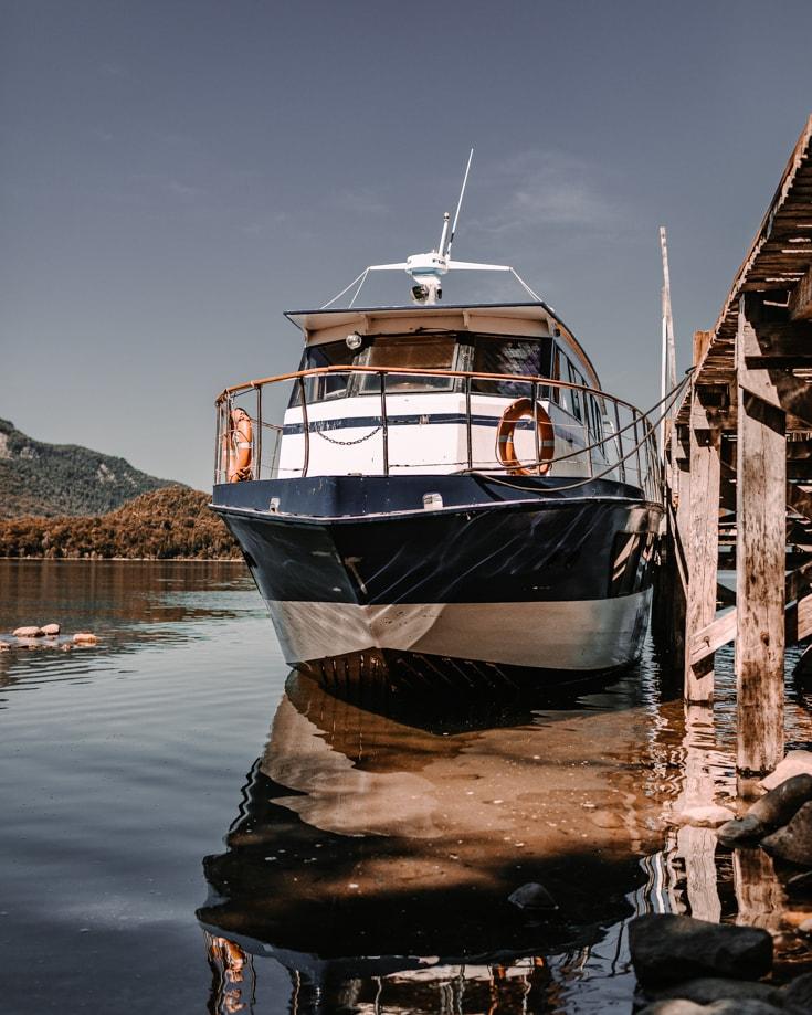 Boat trips from San Martin de los Andes