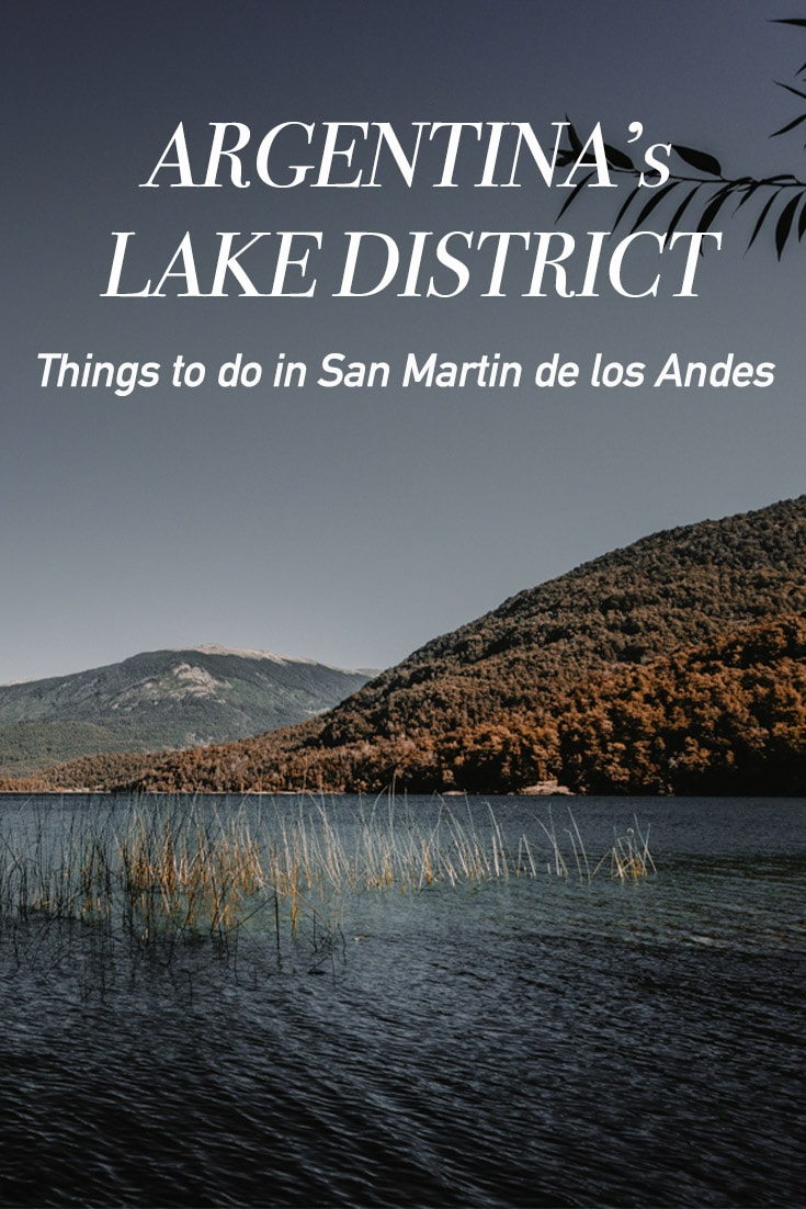 Pin image for things to do in San Martin de los Andes