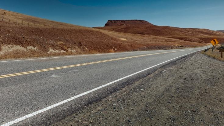 Ruta 40 towards San Martin de los Andes