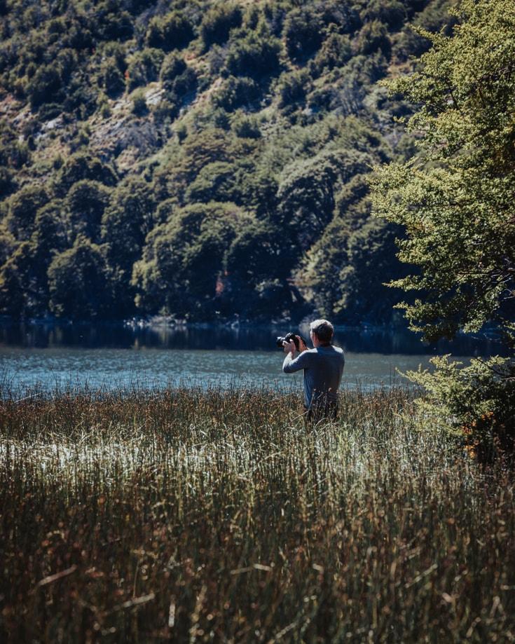 Lago Machinico graham filming