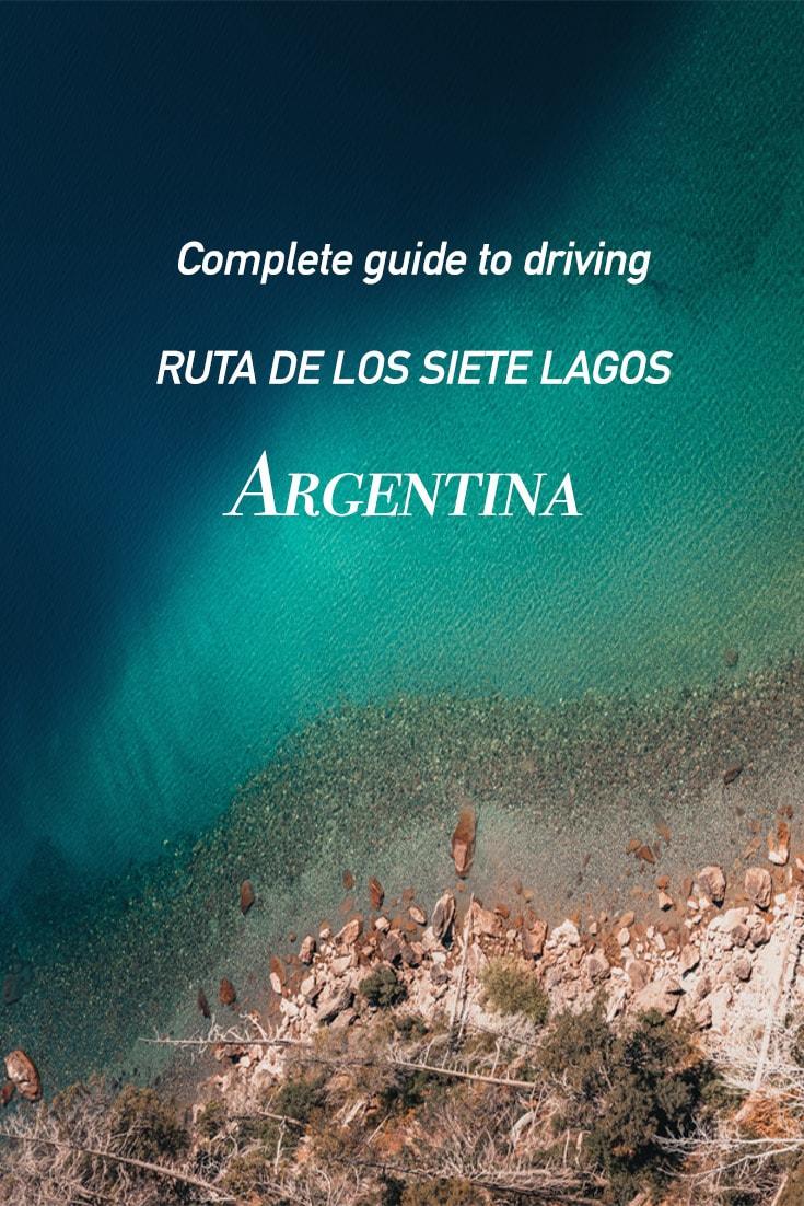 Pin image for Ruta de los Siete Lagos