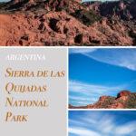 Sierra de las Quijadas National Park Argentina
