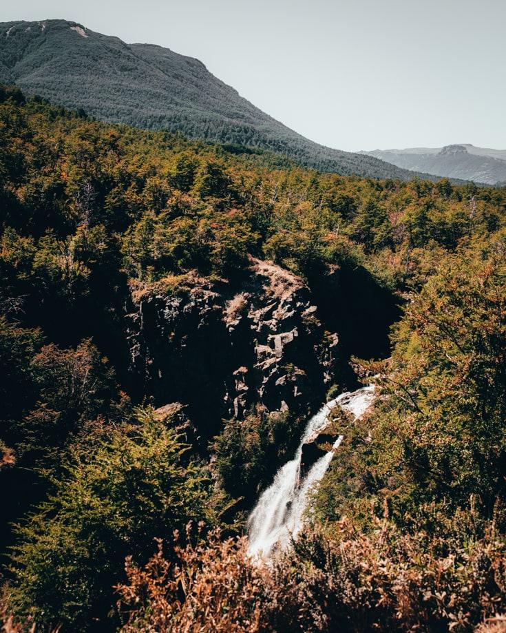 Vullignanco waterfall