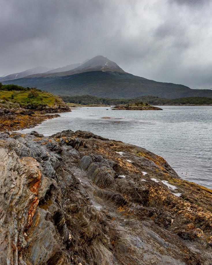 Bahia Lapataia in Tierra del Fuego National Park