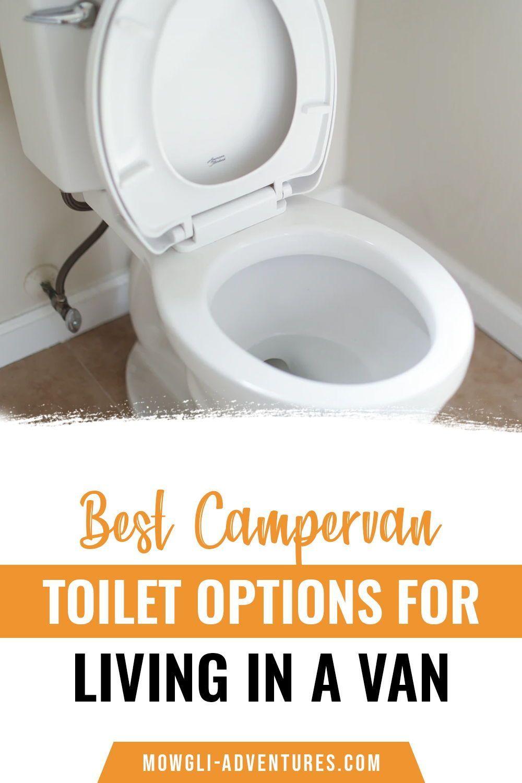 Best campervan toilet options for living in a van _ Van life tips