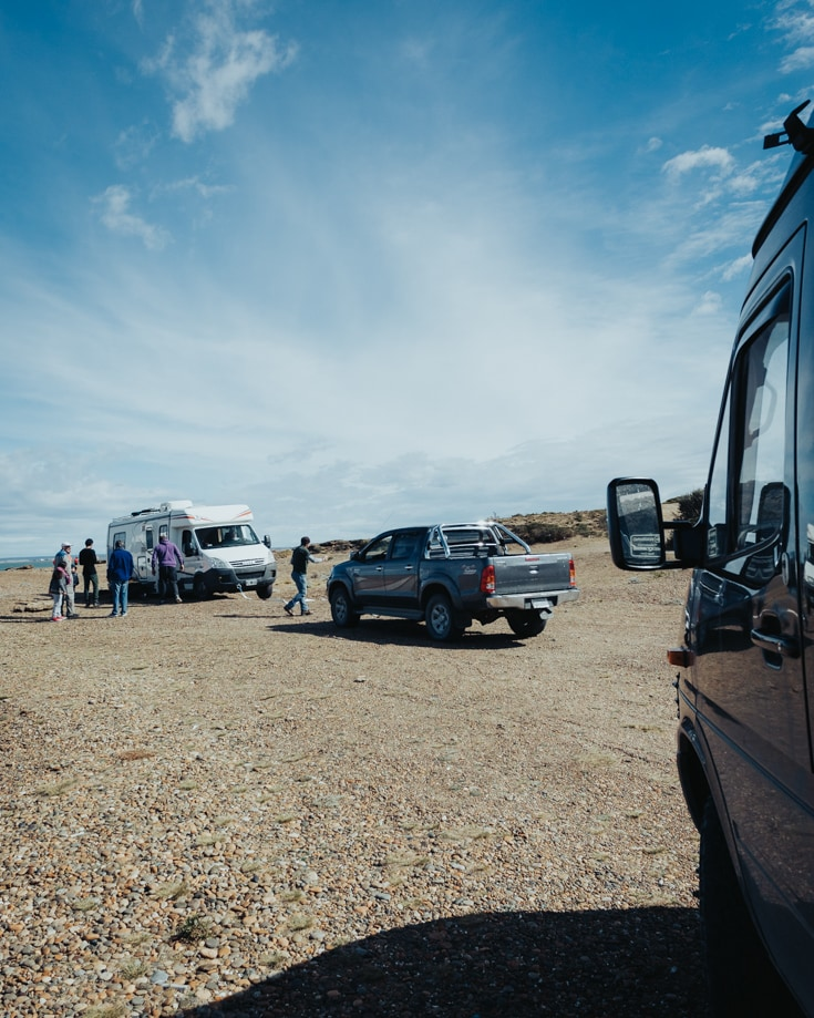 Camper van breakdown and recovery